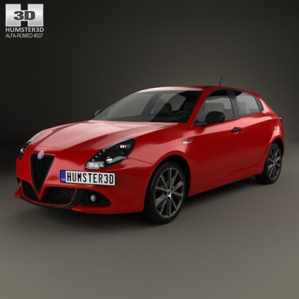 Alfa Romeo Giulietta 2016 - 3DOcean Item for Sale