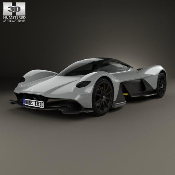 Aston Martin AM-RB 2018 - 3DOcean Item for Sale
