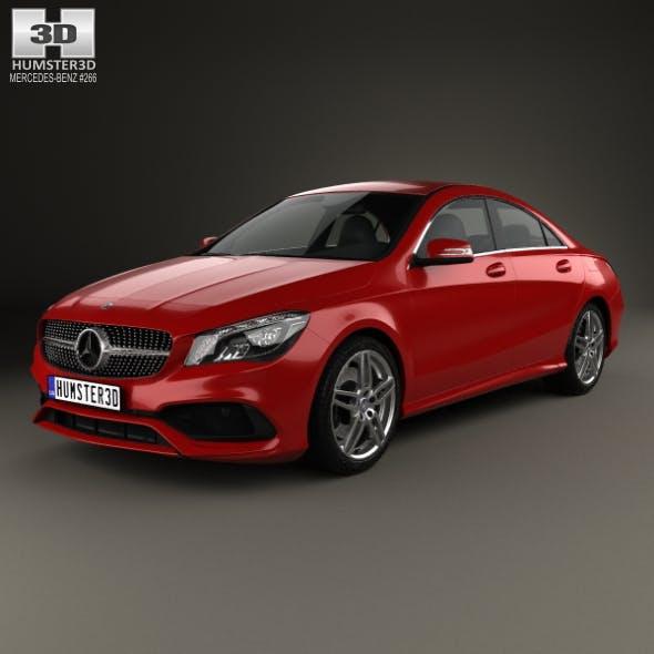 Mercedes-Benz CLA-Class (C117) AMG 2016 - 3DOcean Item for Sale