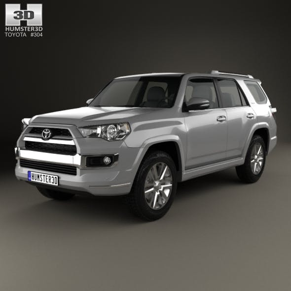 Toyota 4Runner Limited 2016 - 3DOcean Item for Sale
