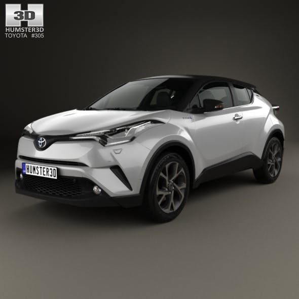 Toyota C-HR 2017 - 3DOcean Item for Sale