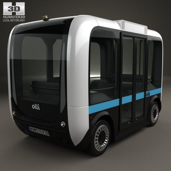 Local Motors Olli Bus 2016 - 3DOcean Item for Sale