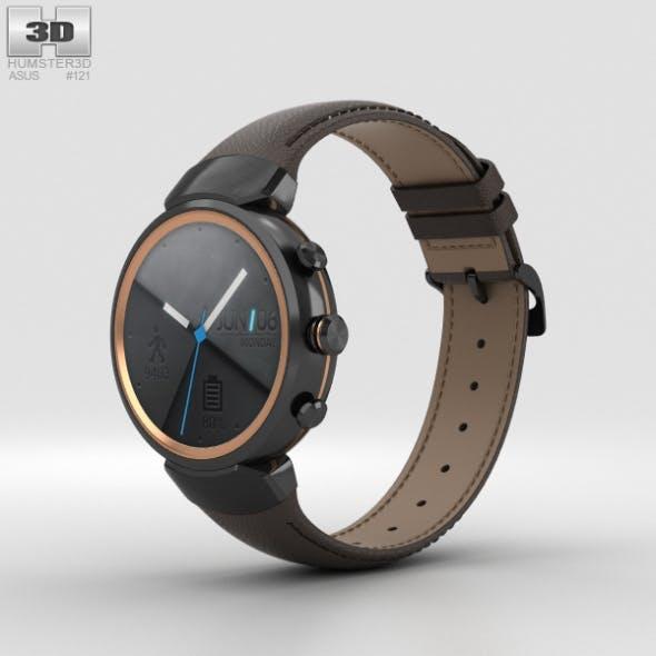Asus Zenwatch 3 Gunmetal - 3DOcean Item for Sale