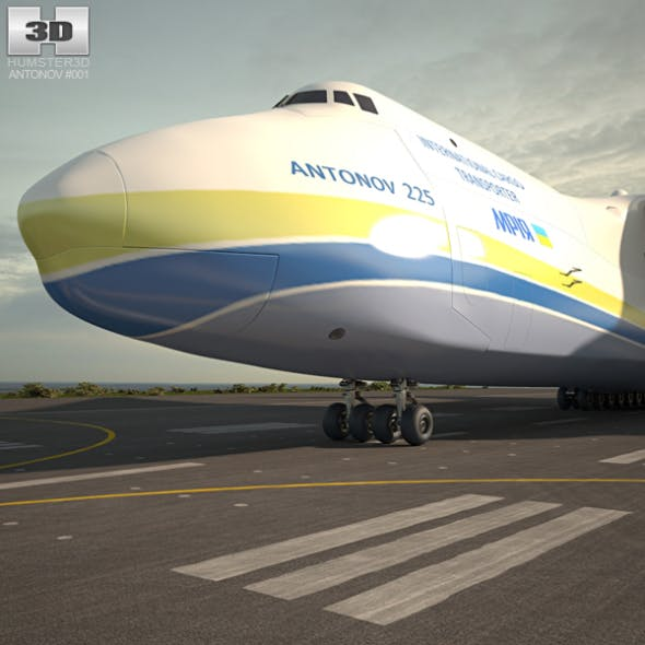 Antonov An-225 Mriya - 3DOcean Item for Sale