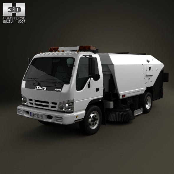 Isuzu NPR Road Cleaner 2011