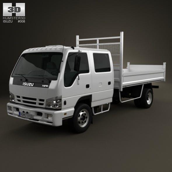 Isuzu NPR Tipper Van 2011 - 3DOcean Item for Sale