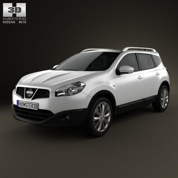 Nissan Qashqai+2 2010 - 3DOcean Item for Sale