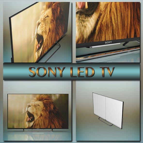 Sony led tv - 3DOcean Item for Sale