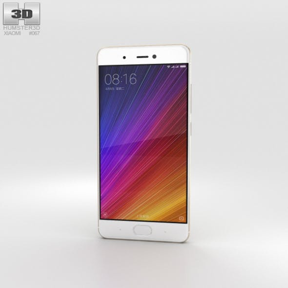 Xiaomi Mi 5s Gold - 3DOcean Item for Sale