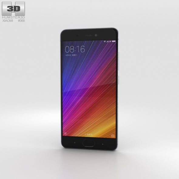 Xiaomi Mi 5s Gray - 3DOcean Item for Sale
