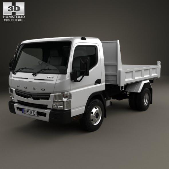 Mitsubishi Fuso Canter Tipper Truck 2010