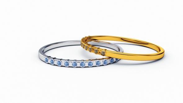 Rings - 3DOcean Item for Sale