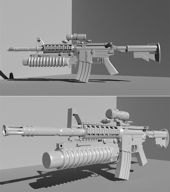 Gun - 3DOcean Item for Sale