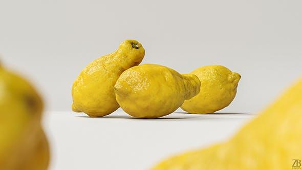 Lemon 002 - 3DOcean Item for Sale