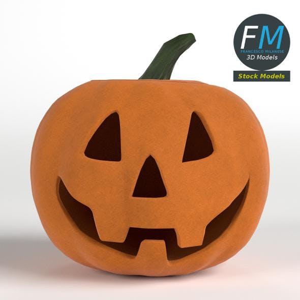 Stylized Halloween Pumpkin - 3DOcean Item for Sale