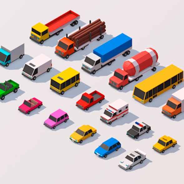 Polygonia City Cars Pack