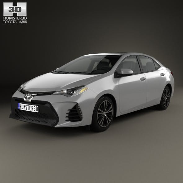 Toyota Corolla SE (US) 2013 - 3DOcean Item for Sale