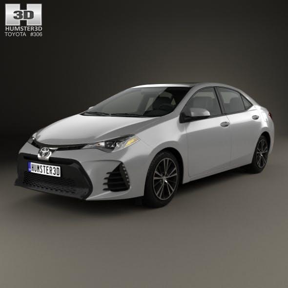 Toyota Corolla SE (US) 2013