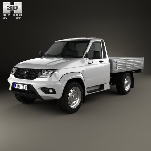 UAZ Patriot (23602-050) Cargo 2014 - 3DOcean Item for Sale