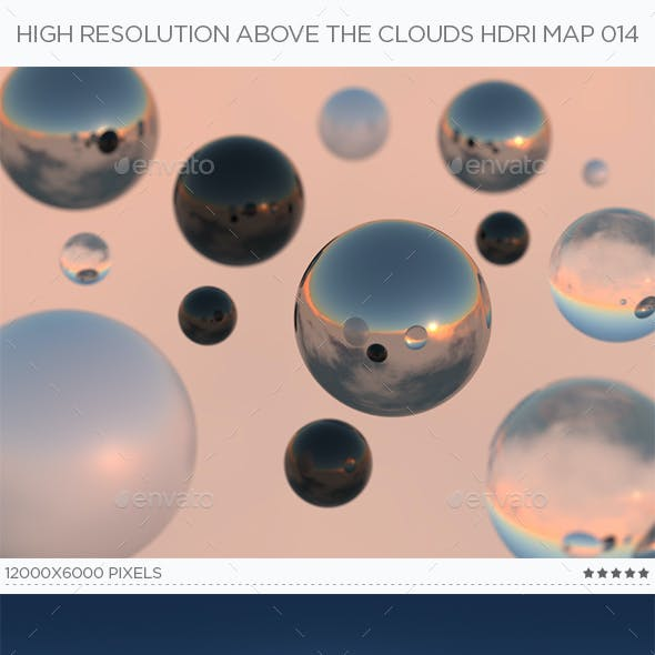 High Resolution Above The Clouds HDRi Map 014