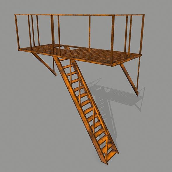 Fire Escape - 3DOcean Item for Sale