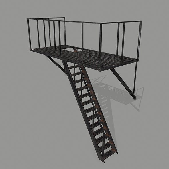 Fire Escape. - 3DOcean Item for Sale
