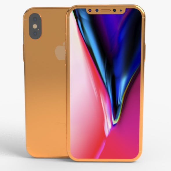 Iphone 11 Gold Model - 3DOcean Item for Sale