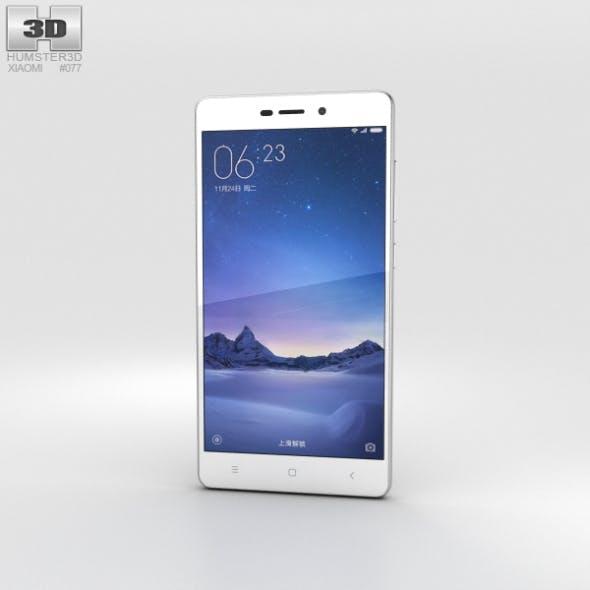Xiaomi Redmi 3 Pro Silver - 3DOcean Item for Sale