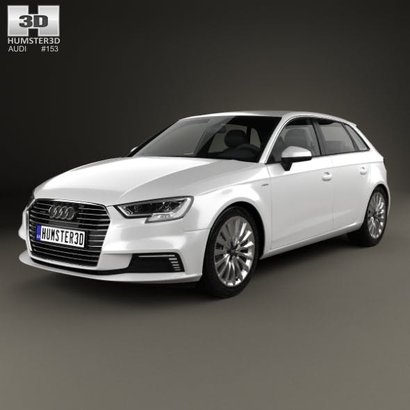 Audi A3 Sportback e-tron 2016 - 3DOcean Item for Sale