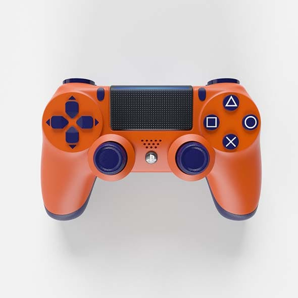 Sony PlayStation 4 DualShock Controller Sunset Orange Edition