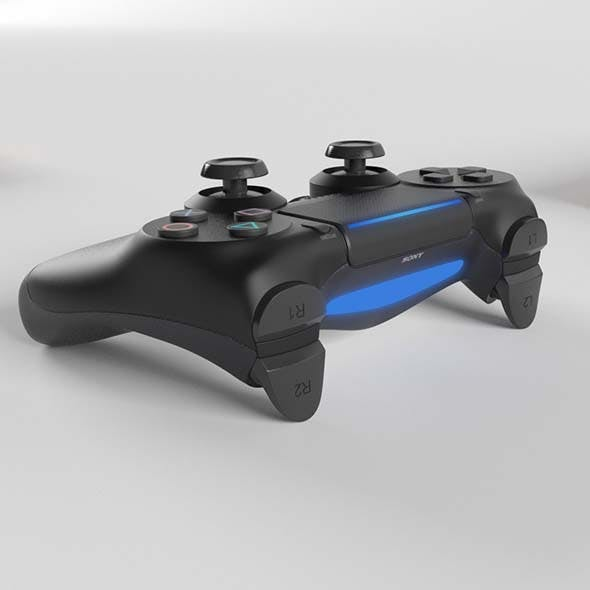Sony PlayStation PS4 PRO DualShock Controller - 3DOcean Item for Sale