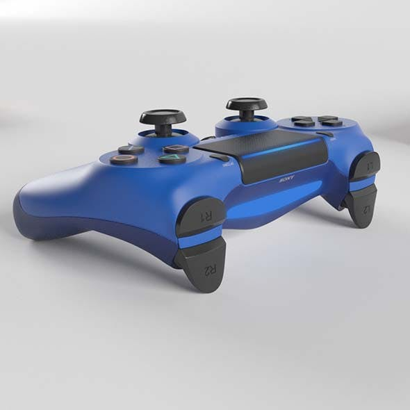 Sony PlayStation 4 DualShock Controller Wave Blue Edition - 3DOcean Item for Sale