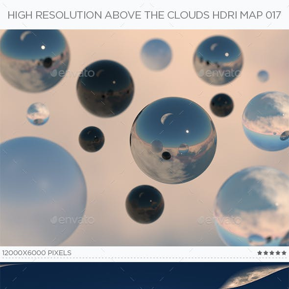 High Resolution Above The Clouds HDRi Map 017