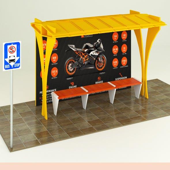 Bus Stop ( street element )