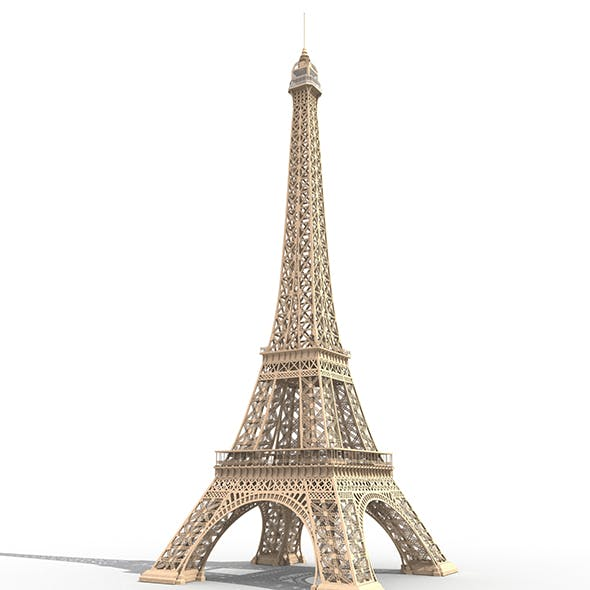 Eiffel Tower France - 3DOcean Item for Sale