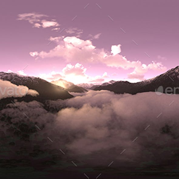 Early Morning Mountains HDRI