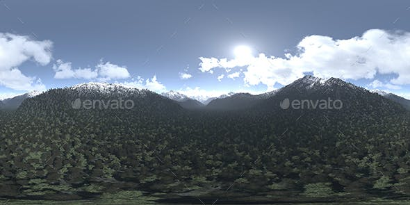 Before Noon Mountains HDRI Sky - 3DOcean Item for Sale