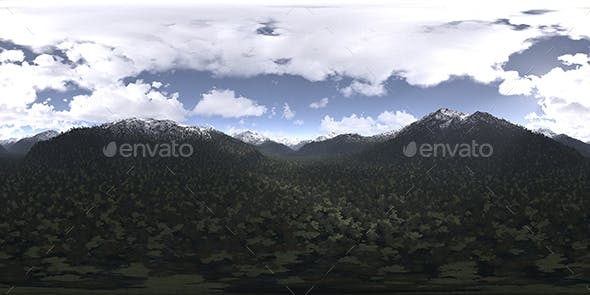 Late Afternoon Mountains HDRI Sky - 3DOcean Item for Sale