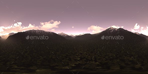 Evening Mountains HDRI Sky - 3DOcean Item for Sale