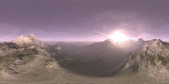 Morning Desert Mountains HDRI Sky - 3DOcean Item for Sale