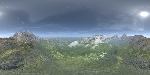Noon Desert Mountains HDRI Sky - 3DOcean Item for Sale