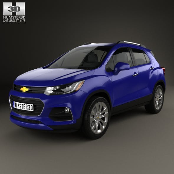 Chevrolet Trax 2017 - 3DOcean Item for Sale