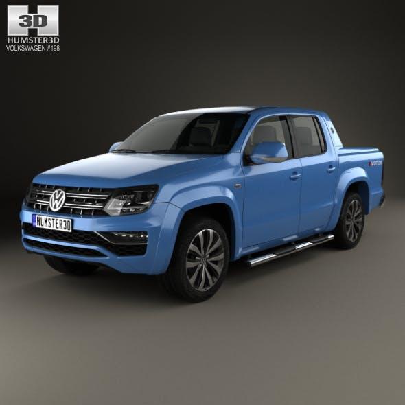 Volkswagen Amarok Crew Cab Aventura 2016 - 3DOcean Item for Sale