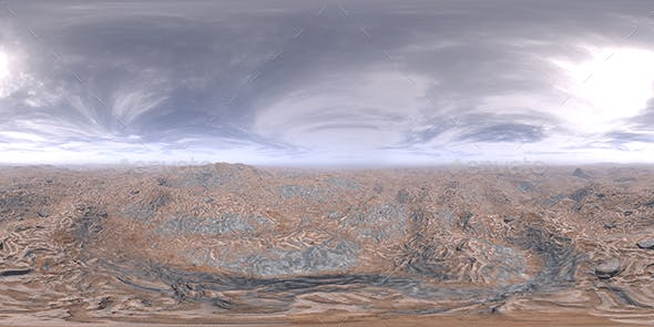 Noon Desert HDRI Sky - 3DOcean Item for Sale