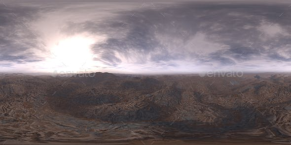 Early Evening Desert HDRI Sky - 3DOcean Item for Sale