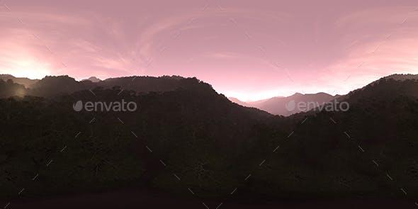 Evening Forest Hills HDRI Sky - 3DOcean Item for Sale
