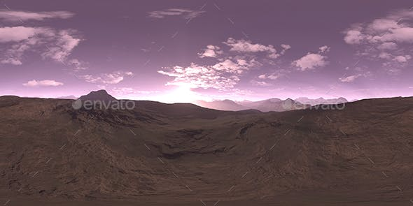 Morning Desert HDRI Sky - 3DOcean Item for Sale