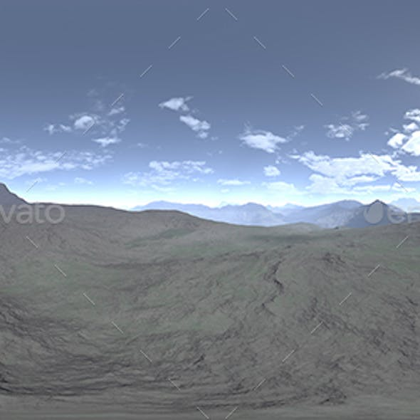 Afternoon Desert HDRI Sky