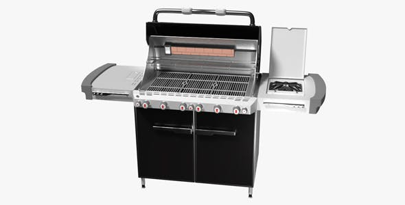 Weber Summit Barbecue - 3DOcean Item for Sale