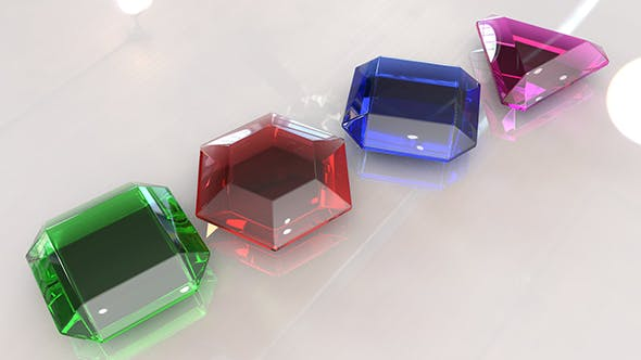 Jewel Crystal - 3DOcean Item for Sale